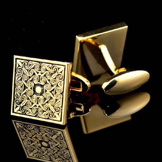mens designer cufflink